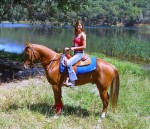 Author Photo - Jennifer and horse