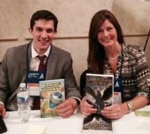Jennifer with author Nate Bell